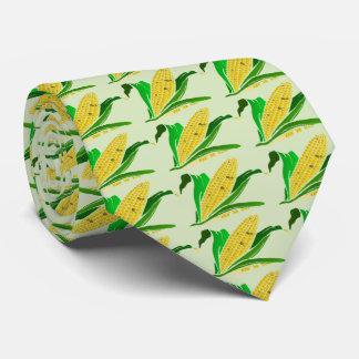 Mais mit grünem Blätter. Bauernhof Personalisierte Krawatte