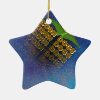 Maishunde Keramik Ornament