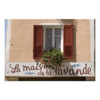 Maison de la Lavande, Place du Couwert, Fotografische Drucke