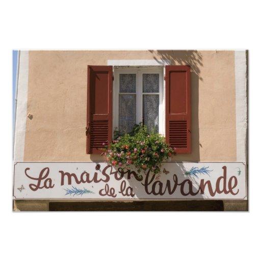 Maison de la Lavande, Place du Couwert, Fotodruck