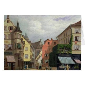 Maison Mathieu, Großartig-Rue, Colmar, 1876 Karte