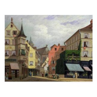 Maison Mathieu, Großartig-Rue, Colmar, 1876 Postkarte
