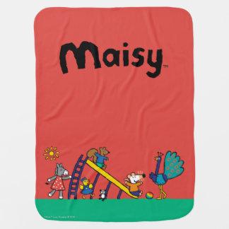 Maisy auf dem Spielplatz mit Freunden Babydecke