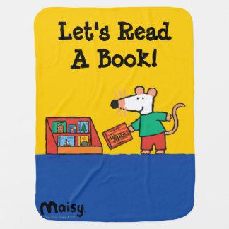 Maisy mit Bibliotheks-Büchern Kinderwagendecke