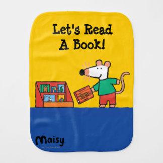 Maisy mit Bibliotheks-Büchern Spucktuch