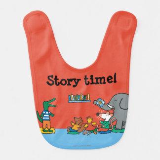 Maisy und Freund-Lachen zur Geschichten-Zeit Lätzchen