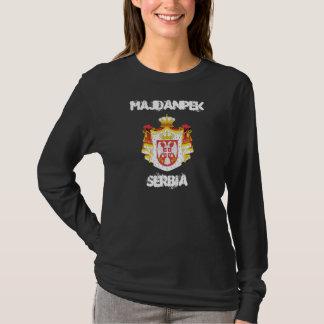 Majdanpek, Serbien mit Wappen T-Shirt