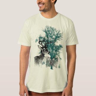 Majestätisch-Hirsch-Kunst T-Shirt