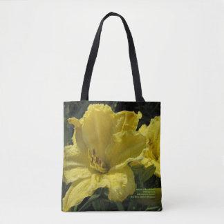 Majestätische gelbe Taglilien Tasche