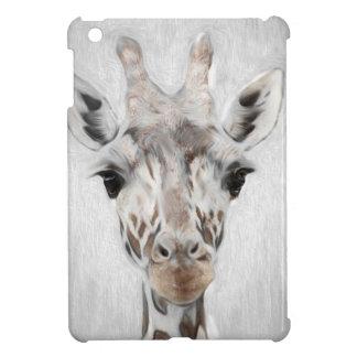 Majestätische Giraffe schilderte produktreiches iPad Mini Hülle