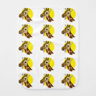 Majestätische Giraffe Spucktuch