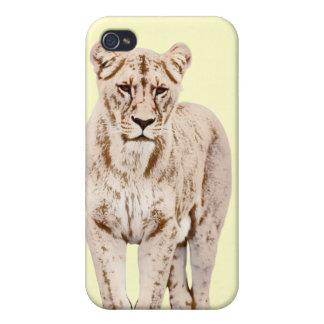 Majestätische Löwin iPhone 4/4S Hülle
