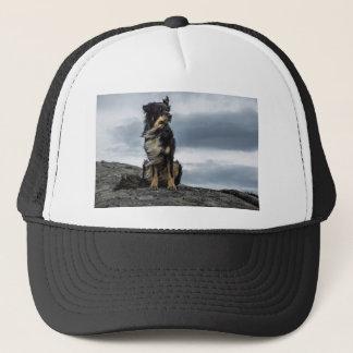 Majestätischer Hund Truckerkappe