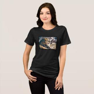 Majestätischer Löwe im Sun-Shirt T-Shirt
