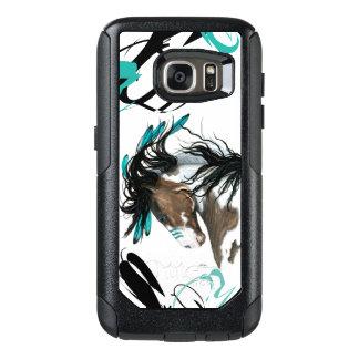 Majestätischer Pinto-Pferdezellen-Fall durch OtterBox Samsung Galaxy S7 Hülle