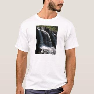 Majestätischer Wasserfall - Stachelbeerfälle T-Shirt