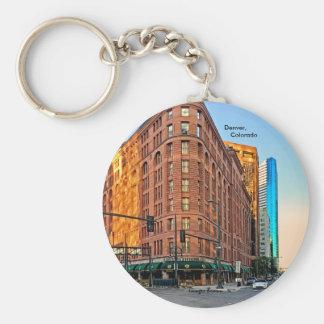 Majestätisches Brown-Palast-Hotel am Schlüsselanhänger