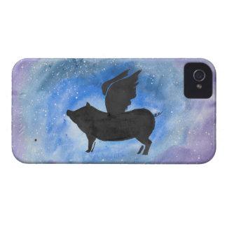 Majestätisches Fliegen-Schwein Case-Mate iPhone 4 Hüllen