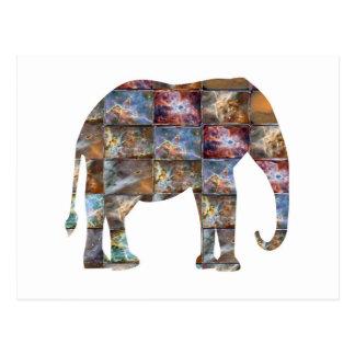 Majestätisches freundliches Tier: Postkarte
