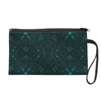 majestätisches Muster C Wristlet Handtasche
