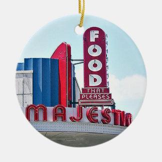 Majestätisches Restaurant, Keramik Ornament