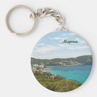 Majorca Keychain Standard Runder Schlüsselanhänger