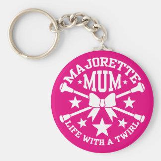 Majorette-Mama-Schlüsselring Standard Runder Schlüsselanhänger