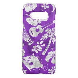 Makapuu Strand-hawaiischer Batik lila Case-Mate Samsung Galaxy S8 Hülle