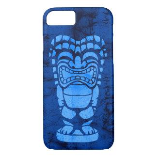 Makapuu Strand hawaiischer lachender Tiki Batik iPhone 8/7 Hülle