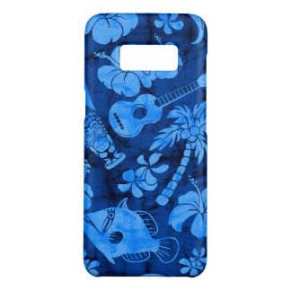 Makapuu Strand-hawaiisches Batik-Blau Case-Mate Samsung Galaxy S8 Hülle