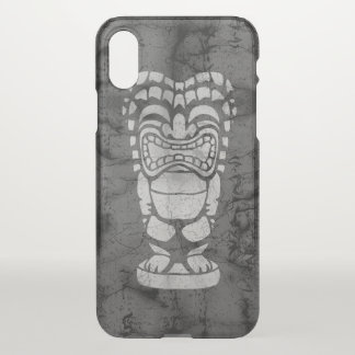 Makapuu Strand hawaiisches lachendes Tiki iPhone X Hülle
