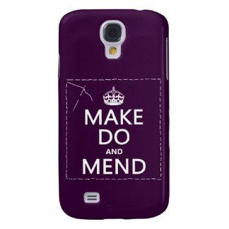 Make tut und bessert aus (alle Farben) Galaxy S4 Hülle