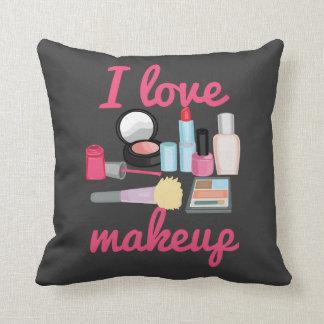 Make-up der Liebe I dekoratives Throw-Kissen Kissen