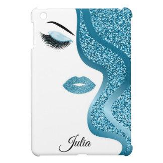 Make-up mit Glittereffekt iPad Mini Hülle