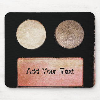 Make-up Palette-Gesicht durch Shirley Taylor Mousepad