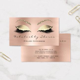 Make-upaugenbraue peitscht visitenkarte