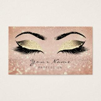 Make-upRosen-Gold peitscht Visitenkarte