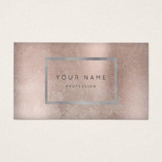 Make-upsilbernes Grau-Grungy Visitenkarten