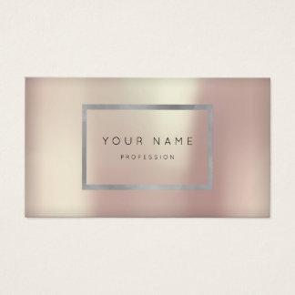 Make-upsilbernes Visitenkarten
