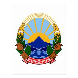 Makedonija grb postkarte