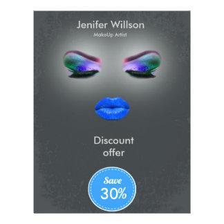 Makeup Artist Discount Offer 21,6 X 27,9 Cm Flyer