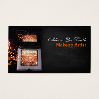 Makeup Artist/Magic Shimmer Brick Visitenkarte