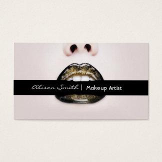 Makeup artist visitenkarten