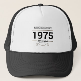 Making history 1975 truckerkappe