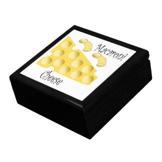 Makkaroni-Käse Große Quadratische Schatulle