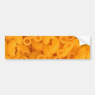 Makkaroni mit Käse Auto Aufkleber