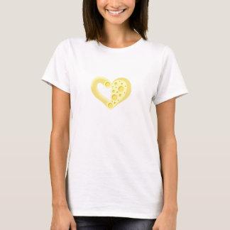 Makkaroni mit Käse-Herz T-Shirt