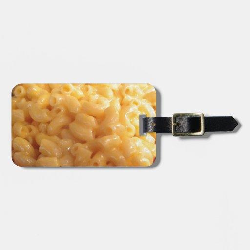 Makkaroni mit Käse Koffer Anhänger