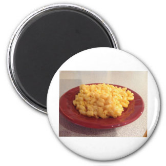 Makkaroni mit Käse Kühlschrankmagnet
