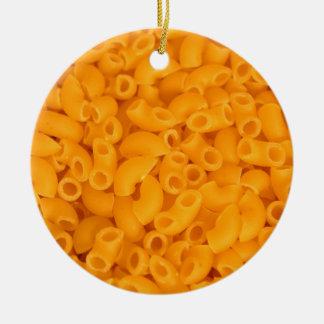 Makkaroni mit Käse Weihnachtsornament
